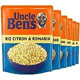 UNCLE BEN'S Riz Citron/Romarin 2 min 250 g -