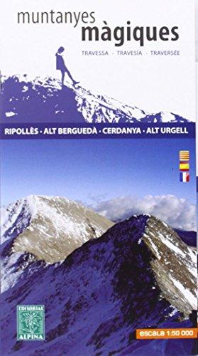 Muntanyes magiques guide + map Ripolles-Cerdanya por Alpina Editorial SL