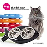 Katzennapf in Fischform – für Wasser und Futter, rot - 2