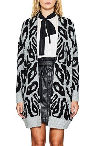 Esprit, Gilet Femme Multicolore (Medium Grey 5 039)