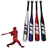 SLS SHOP Mazza da Baseball Softball Alluminio 76CM Mazze Sport Softball