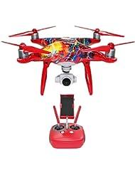 DJI Drone, Phantom 4 New Year Edition rot/Orange