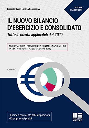 Il bilancio d'esercizio e consolidato 2018