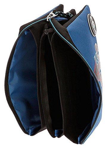 51LWrsTY3qL - Movom Skateboard Neceser de Viaje, 22 cm, 1.32 Litros, Azul