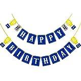 Sayala 12 Stücke Spiel Thema Geburtstag Party Papier Geschenktüten - Mitbringsel Taschen für Kinder Geburtstag Spiel Partei Liefert Dekorationen (Banner)