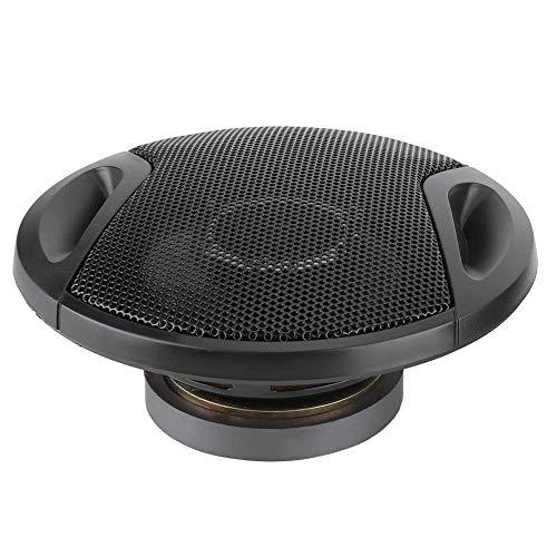 EBTOOLS Schwarz 2 stücke Kunststoff + Magnet Auto Lautsprecher 4 Zoll 250 Watt Auto Vorne/Hinten (Komponente Lautsprecher Auto)