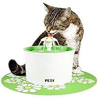 PEDY Fuente de Agua Silenciosa para Mascotas con Dispensador Circular en Form...