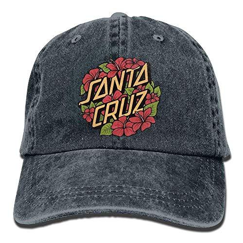 Baseballkappe, Skateboard Stcikers On Pinterest Santa Cruz Trend Printing Cowboy Hat Fashion Baseball Cap for Men and Women Black ()