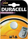 Four (4) X Duracell CR1220 Lithium Coin Cell Battery 3v Blister Packed