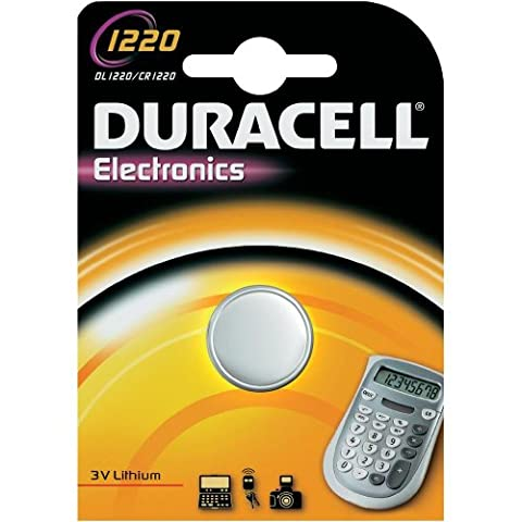 Duracell Knopfzelle CR1220 Lithium 3V