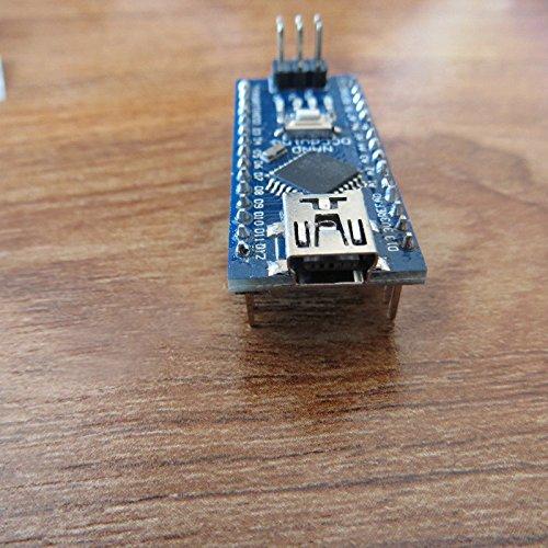 51LWua7w9xL - Tenflyer Nano 3.0 Controller Compatible con Arduino Nano CH340 controlador USB con el cable NANO V3.0 ATMEGA328P XTWduino
