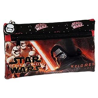 Disney Star Wars Neceser de Viaje, 0.76 litros, Color Negro