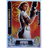 Star Wars Force Attax Movie Cards Serie 2 - Carta de Padme Amidala (texto en alemán)