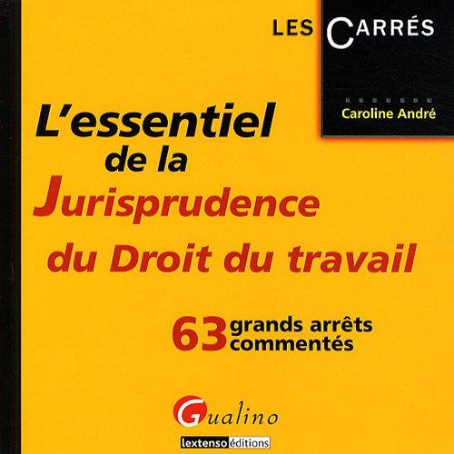 L'essentiel de la Jurisprudence du droit du travail : 63 grands arrêts commentés