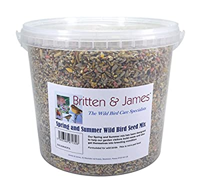 Britten & James Stay Fresh Tubs of Wild Bird Food from Britten & James