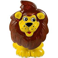 Hucha infantil de cerámica León
