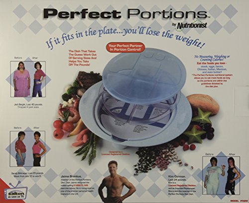 Relaxor FF8PP Perfect Portion Plate Portion Control Health System by Relaxor Portion Control Plate