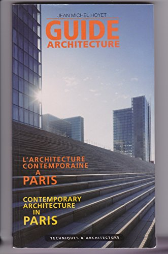 Guide de l'architecture contemporaine à Paris