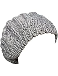 Neuheiten Lady Winter warme Strick Crochet Slouch Baggy Beret Beanie von Boolavard ® TM Schwarz, Rot, Rosa, etc.