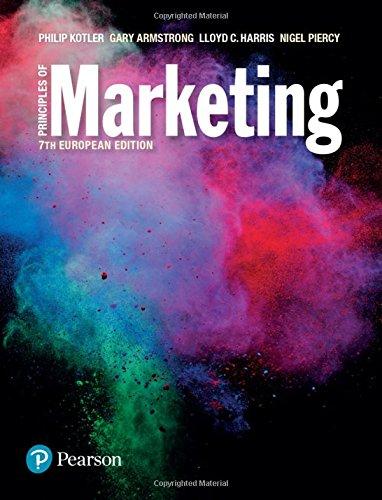 Principles of Marketing European Edition 7th edn