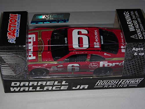 darrell-wallace-jr-6-ford-darlington-special-2016-164-scale-nascar-diecast