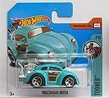 Hot Wheels 2017 Tooned Volkswagen Beetle Turquoise 74/365 (Short Card)