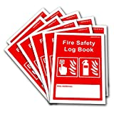 10 x Fire Safety Log Book - Business & Landlord - Checks, Tests & Maintenance Record