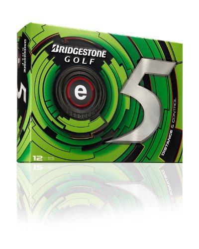 bridgestone-pallina-da-golf-distanzball-e5-bianco-wei-taglia-unica