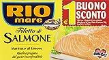 Rio Mare - Filetto di Salmone, Marinato al Limone - 3 confezioni da 150 g [450 g]