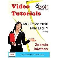 LSOIT MS Office 2010 + Tally ERP 9 Video Tutorials (DVD)