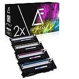 8 Toner kompatibel für Samsung CLP-360 N ND Series 365 W CLX-3300 3305 FN FW W Series Xpress C410 C460 FW W Series - CLT-K406S C406S M406S Y406S - Schwarz je 1.500 Seiten, Color je 1.000 Seiten