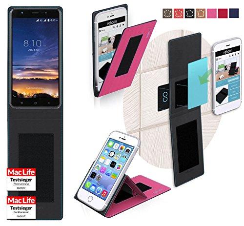 reboon Hülle für Blackview R6 Lite Tasche Cover Case Bumper   Pink   Testsieger
