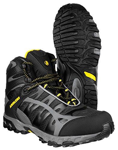 Amblers sicurezza FS36Elegante Soft Shell da trekking, da uomo, con lacci scarpe multicolour