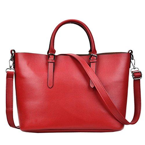 Ms. Mode Mit Großer Kapazität Tragbaren Umhängetasche Red