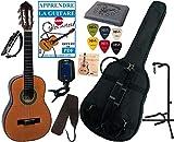 Pack Guitare Classique 1/2 Pour Enfant (6-9ans) Avec 7 Accessoires (nature)