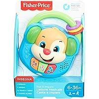 Fisher-Price Lettore Musicale Canta e Impara-Giocattolo Elettronico Ridi 6-36 Mesi, FPV06