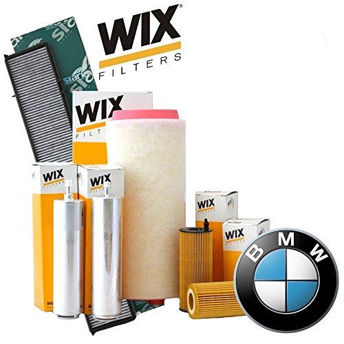 Inspektionskit 4 Filter Wix (WL7474, WF8365, WA9601, V3701)