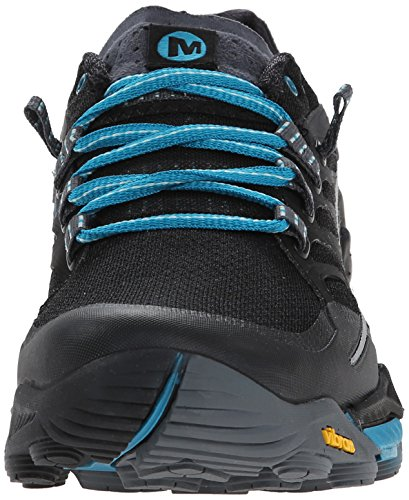 Merrell All Out Peak, Scarpe da Trail Running Donna, Orange Nero (BLACK/ALGIERS BLUE)
