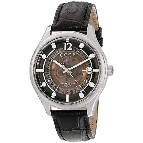 CCCP SPUTNIK-2 Leather Watch - CP-7026-01