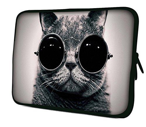 Luxburg Notebooktasche Laptoptasche Tasche aus Neopren Schutzhülle Sleeve für Laptop/Notebook Computer Tablet 10,2 Zoll