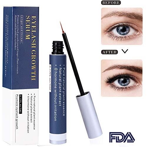 Wimpernserum, JF-eng Superlative Lash Augenbrauenserum, Wimpern Booster für Wimpernwachstum und Augenbrauenwachstum mit Lange & Voluminöse Wimpern (5 ml) -