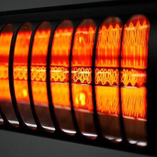 VASNER SlimLine X20 Infrarot-Heizstrahler 2000W Outdoor Terrassenstrahler elektrisch Bild 2*