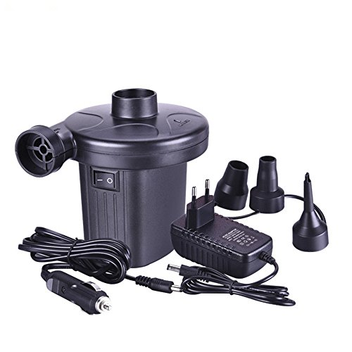 Electric air pump, New Look 2 in 1 Portable air compressor