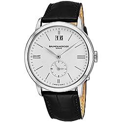 Baume & Mercier Classima Reloj de hombre cuarzo 40mm color negro 10218