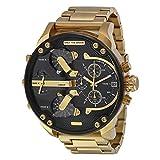 Fenkoo Da uomo Orologio militare Orologio alla moda Calendario Quarzo Acciaio inossidabile Banda Di lusso Oro