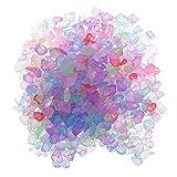 P Prettyia 20g Cristallo Sabbia Colorato Decorativo Fai da Te Gioielli Vaso di Riempimento Serbatoio di Pesce Arredamento