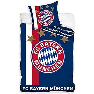 Fc Bayern München Bettwäsche Bettbezug Set Fußball