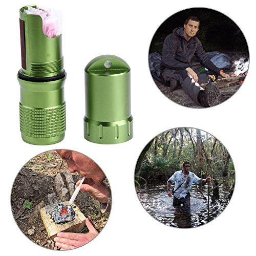 BEBIG-Outdoor-Life-Saving-Products-Waterproof-Tank-Metal-Waterproof-Box-with-Matchbox