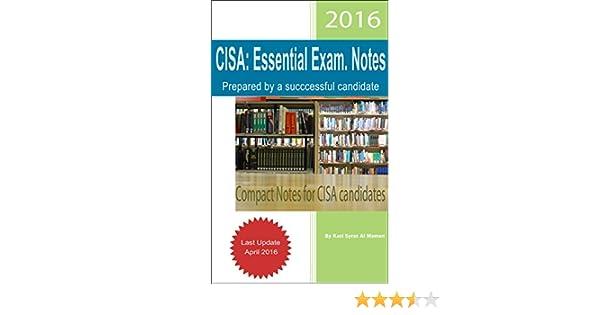 Cisa essential exam notes ebook kazi syras al mamun amazon cisa essential exam notes ebook kazi syras al mamun amazon kindle store fandeluxe Gallery