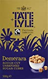 Tate and Lyle Fairtrade Demerara Rough Cut Sugar Cubes 500 g (Pack of 5)